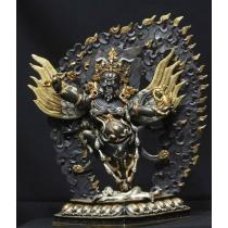Fine Bichhu Pani Statue Gold plated 10 inches