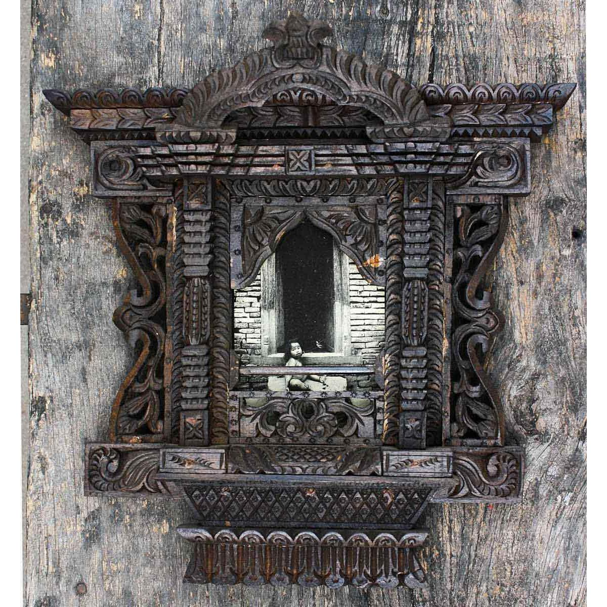 Wooden Window Frame Crafts Traditional Single Photo Wooden Frame Craft