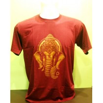 Ganesh Head Printed T-shirt