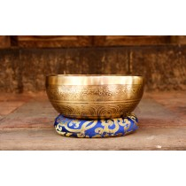 Handmade Tibetan Singing Bowl Of 7 metals