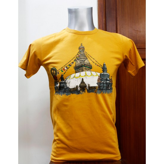 Swoyambhu Printed T-shirt 100% Cotton