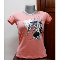 Caravan Printed Women T-shirt 100% Cotton