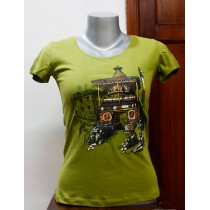 Mustang Printed T-shirt 100% Cotton