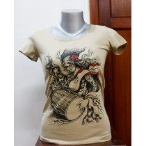 Dhimey Printed T-shirt 100% Cotton