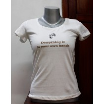 Buddha Quote Printed T-shirt 100% Cotton