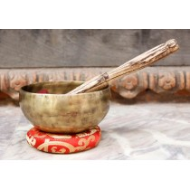 "Singing Bowl Tibetan Hand Hammered 5"" W x 2.5"" H"