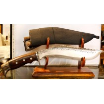 "Authentic Gurkha Kukri Knife - 10"" American Eagle Khukuri or Khukris, Hand forged Nepal."