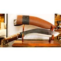 "Authentic Gurkha Kukri Knife - 11"" Blade Hunting knife Khukuri or Khukris, Hand forged Nepal."