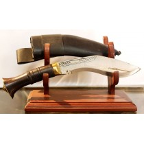 "Authentic Gurkha Kukri Knife - 6"" Blade Mini jungle Khukuri or Khukris, Hand forged Nepal."