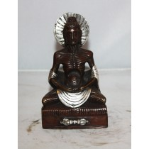 Antique Deep Meditating Buddha Statue 5 inches.