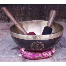 """Tibetan Singing Bowl 8"""" W x 3"""" H"""