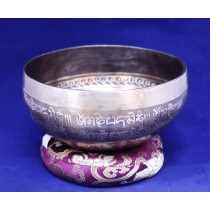 "Buddha Eye Mantra Singing Bowl   6.5""W x 3""H"