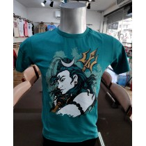 Shiva Printed T-shirt Made in Nepal
