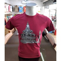 Krishna Mandir Printed T-shirt Made in Nepal