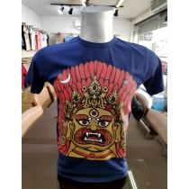 Bhairav Printed T-shirt Made in Nepal