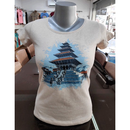 Nyatapole Printed T-shirt Made in Nepal