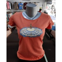 Buddhanath Printed T-shirt Made in Nepal