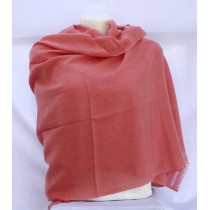 "Natural Colored Pashmina shawl 76""L  x 28"" B"