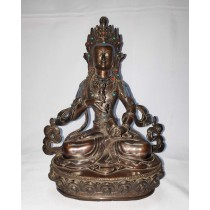 "Vajrasatwa Antique Design Statue 6"" W x 8"" H x 4"" D"