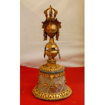 Wooden Frame Prayer Wheel