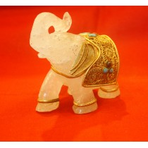 Crystal Desk/Table Decorative Elephant
