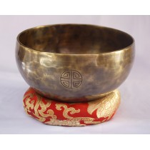 "Full Moon Tibetan Singing Bowl 6.5"" W x 3"" H"