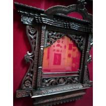 """Guru Padmasambhava Thangka Painting 22.5"""" W x 29"""" H"""