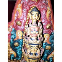 """Mount Annapurna And Macchapuchre Acrylic Painting 33"""" W x 22"""" H"""