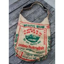 "Typical Nepali Rice Bag 15""h x 4.5""d"