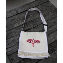 """Budhha Eyed School Bag 11.5""""h x 2""""d"""