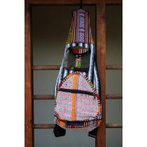 """Funky Nepali Handmade Guitar Bag 22""""h x 10""""w"""
