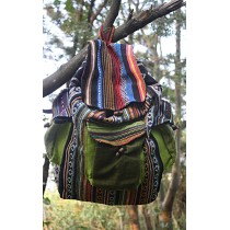 Two sided Multicolored Hippie Bag